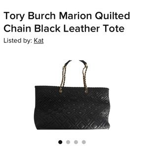 Marion quilted tory Burch bag gently used